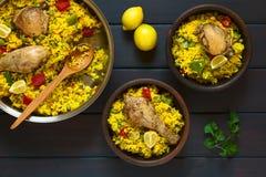 Chicken Paella Stock Image