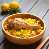 Chicken Paella Stock Images