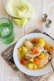 Chicken Papaya Stock Images