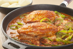 Chicken Paprika Royalty Free Stock Images