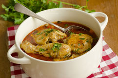 Chicken paprika Stock Images