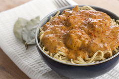 Chicken Paprikash Stock Photography