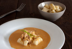 Chicken Paprikash Royalty Free Stock Photos