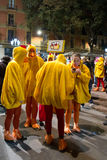 Chicken Parade Royalty Free Stock Photo