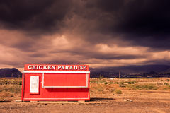 Chicken paradise in tenerife Royalty Free Stock Image