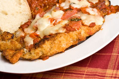 Chicken parm Stock Photography