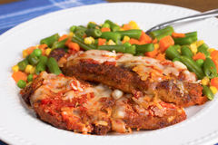 Chicken Parmesan Royalty Free Stock Images