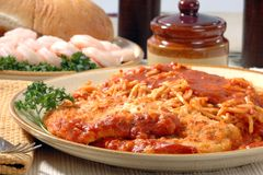 Chicken Parmesan Royalty Free Stock Image