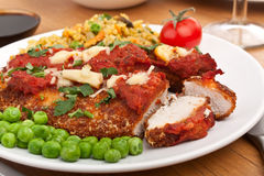 Chicken Parmesan Royalty Free Stock Photography