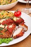 Chicken Parmesan Royalty Free Stock Photo