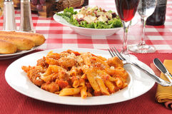Chicken parmigiana Stock Photography