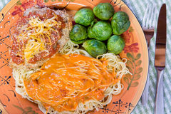 Chicken Parmigiana Royalty Free Stock Image