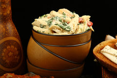 Chicken Pasta Salad Stock Image