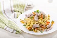 Chicken Pasta Stock Photos