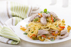 Chicken Pasta Stock Images