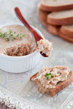 Chicken pate Royalty Free Stock Photo