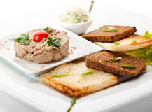 Chicken Pate Royalty Free Stock Photos