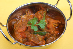 Chicken Pathia Curry Stock Images