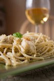 Chicken Pesto Pasta Stock Photography