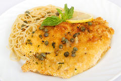 Chicken Piccata Stock Photos