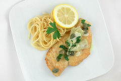 Chicken Piccata Royalty Free Stock Photography