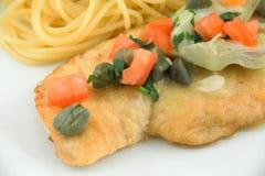 Chicken Piccata Stock Photos