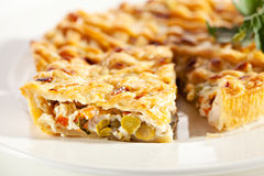 Chicken Pie Royalty Free Stock Images