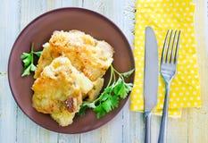 Chicken pie Stock Image
