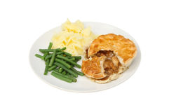 Chicken pie Royalty Free Stock Photos