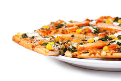 Chicken pizza Royalty Free Stock Photography