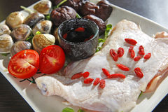 Chicken platter Royalty Free Stock Photos