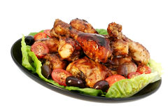 Chicken Platter Royalty Free Stock Image