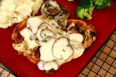 Chicken Portobello Royalty Free Stock Images