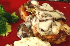 Chicken Portobello Stock Photos