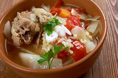 Chicken posole Stock Images