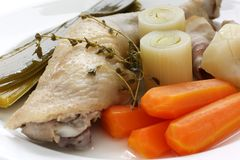 Chicken pot-au-feu Royalty Free Stock Image
