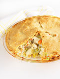 Chicken pot pie Royalty Free Stock Images