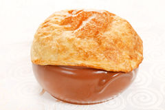 Chicken pot pie Royalty Free Stock Photo