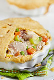 Chicken pot pie Stock Photo