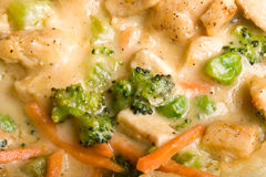 Chicken pot pie Stock Images