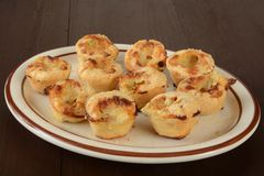 Chicken pot pie appetizers Stock Image