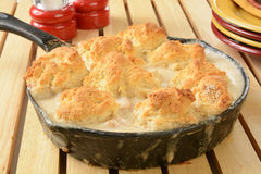 Chicken pot pie casserole Royalty Free Stock Photography