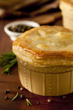 Chicken Pot Pie Stock Photos