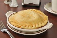 Chicken pot pie Royalty Free Stock Photos