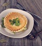 Chicken Pot Pie Stock Photo