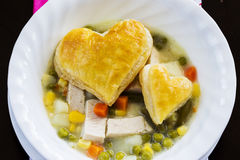 Chicken Pot Pie Soup Stock Images