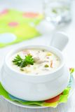 Chicken pot soup Royalty Free Stock Image