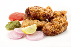 Chicken or potato cutlet Royalty Free Stock Photos