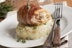 Chicken with potatoes Stock Photography