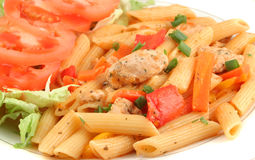 Chicken primavera Royalty Free Stock Photo